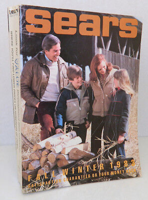 SEARS 1983 Fall and winter Original Vintage Catalog