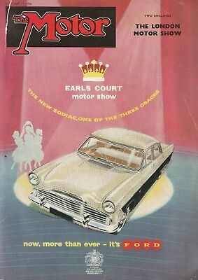The Motor magazine October 17 1956 - The London Motor Show