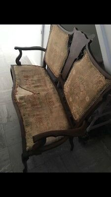 Edwardian Double Love Chair