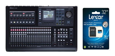 TASCAM DP-32SD Mini Studio portatitle mit mixer Iintegradto 32 Titel+ SD 32GB