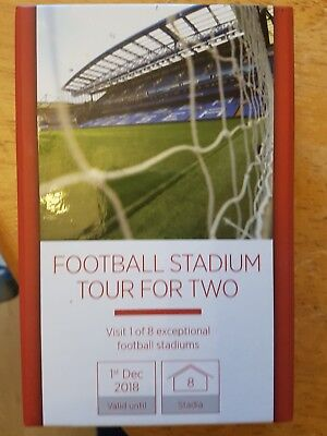 Football Stadium Tour for two