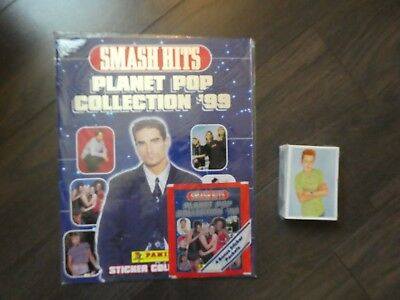 Album Panini Smash hits planet POP collection 99 album vide + set complet 1998