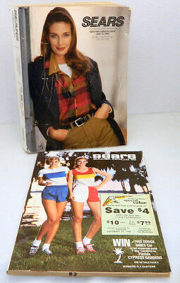 SEARS 1985 Spring Summer Original Vintage Catalog