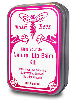 Lip Balm Kit - Make Your Own 100% Natural British Beeswax Lip Balm