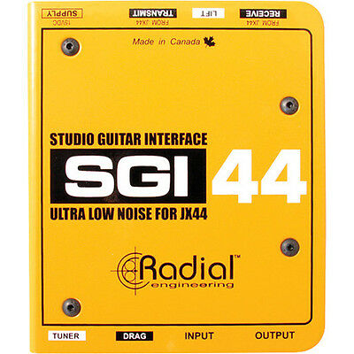 Radial Engineering SGI-44 Studio Guitar Interface NEW! Free 2-Day Delivery!!