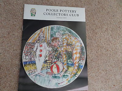 Poole Pottery Collectors Club Magazine SUMMER 2001