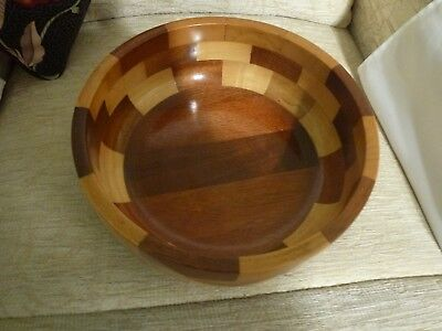 Cambridge Ware beautiful wood bowl.