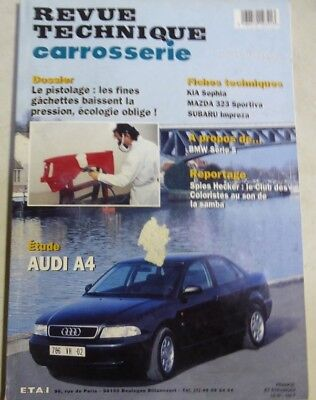 AUDI A4 1.6 1.8 1.9 TDi 1.8 turbo  Revue technique CARROSSERIE RTA 159 1996