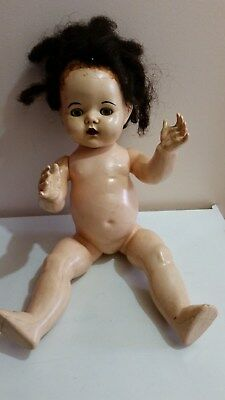 Pedigree doll 20 inches tall not a walker.