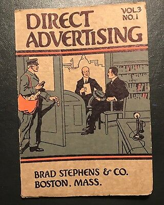1914 Direct Advertising Magazine Printing Papers Industry Commercial Art
