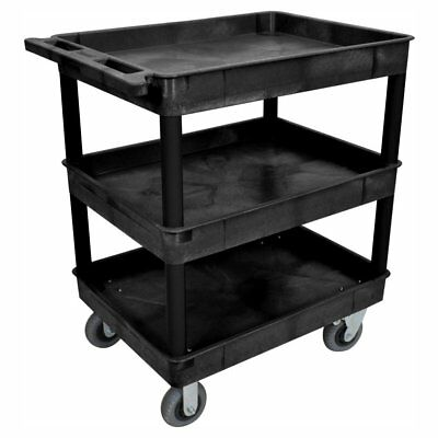 Luxor 24 x 32 in. 3 Tub Cart with SP6 Casters