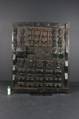 African wood carved Granary Door - DOGON tribe, Mali, TRIBAL ART, African art