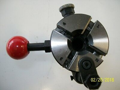 "GEOMETRIC 5/16""  THREADING DIE HEAD w/ 5/8"" SHANK WITH 6 CHASERS!!!!! NICE"