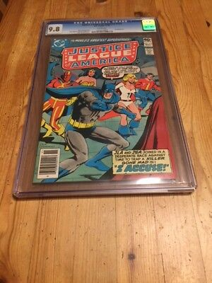 Justice League America #172 CGC 9.8 NM/MT, Batman, Power Girl, JSA, top census!