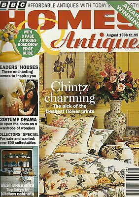 Homes And Antiques August 1996