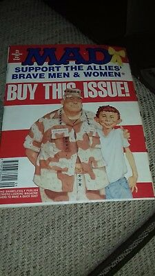 Mad Magazine #353 Support the Allies