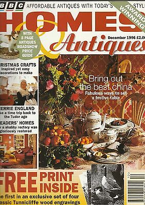 Homes And Antiques December 1996