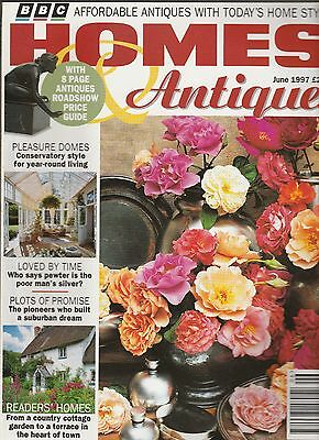 Homes And Antiques June 1997
