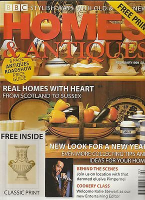 Homes And Antiques February  1999