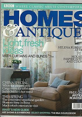 Homes And Antiques March 2004