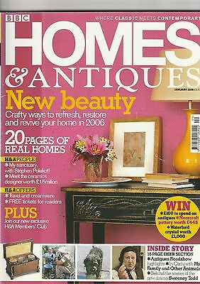 Homes And Antiques January 2006