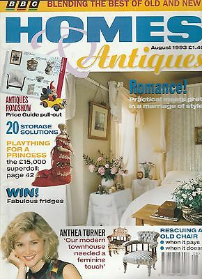 Homes And Antiques August   1993