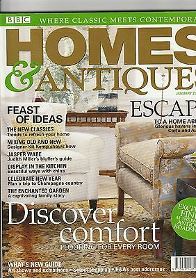 Homes And Antiques January2004