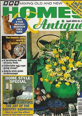 Homes And Antiques April 1995