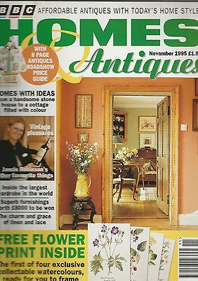 Homes And Antiques November  1995