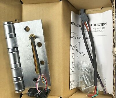 Assa Abloy McKinney T4A3786-26D Electric Transfer Hinge Concealed Circuit QC12