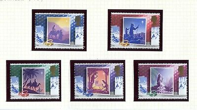 GB Stamps 1988 Christmas (SG 1414-1418) - MINT