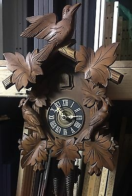 Black Forest Cuckoo Clock Antique Vintage