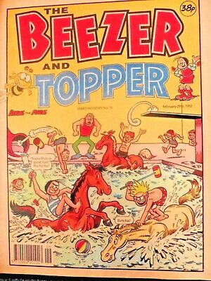 The Beezer And Topper 29/2/1992 No 76
