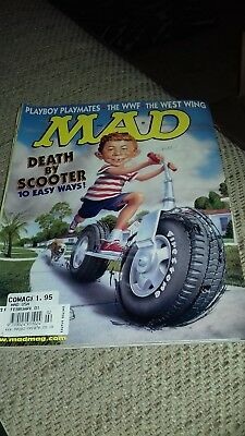 Mad Magazine #402 Death by Scooter
