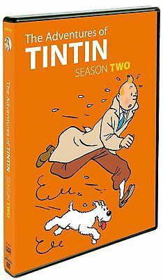 New: THE ADVENTURES OF TINTIN - Season 2 DVD, 2 Disc, 13 Episodes