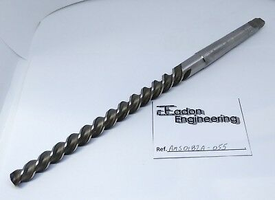 No. 7 Taper Pin Machine Reamer, Spiral Flute. HSS. 1MTS.