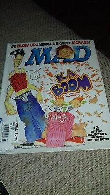 Mad Magazine #407 Johnny Knoxville