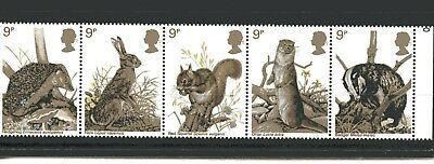 GB Stamps 1977 British Wildlife (SG1039-1043) - MINT