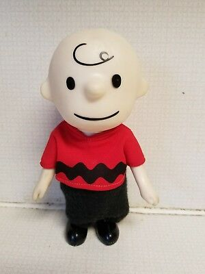 Vintage 1966 United Feature Syndicate Hungerford Charlie Brown Vinyl Figure
