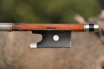 Old French violin bow 1900's stamped J. LAVEST
