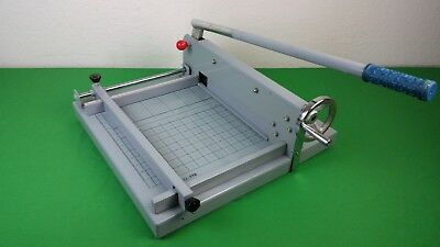 """Come SG-398 12"""" QUALITY Guillotine Stack Paper Cutter Trimmer"""