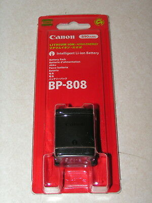 Canon BP-808 Lithium Ion Battery in Sealed Blister Pack