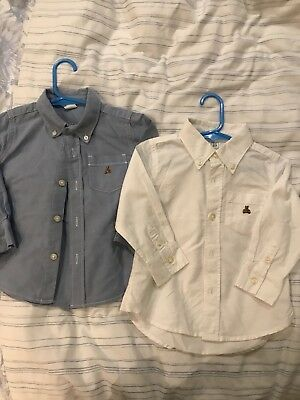 2 Baby Gap Boys Shirts. Washed But Never Worn. 18-24 Months