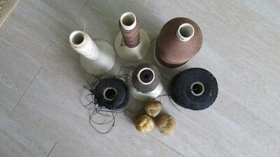 Thread sewing and Wax for Leather Stitching Leather-craft