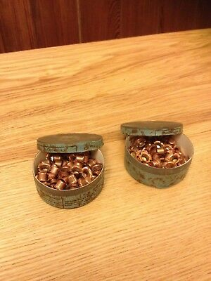 Eley - Kynock Military  Percussion cap tins and contents .