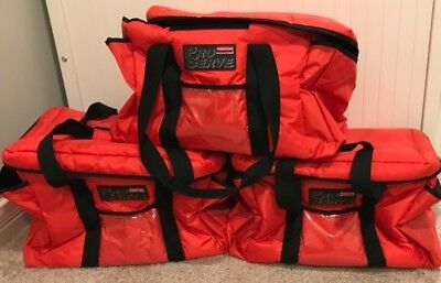3 Insulated Commercial Catering Delivery Food Full Pan Carrier Hot Cold Bags NEW