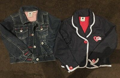 2 X Size 4 Pumpkin Patch Jackets. 1 Demin & The Other Demin Look.