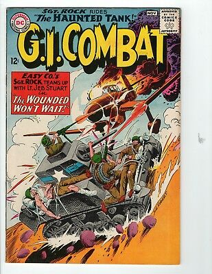 G.I. Combat #108 VF- 7.5 Off White Pages Grey Tone Cover 1st Sgt Rock Crossover