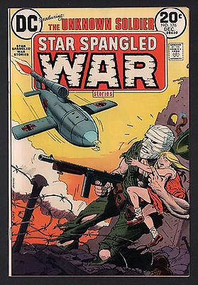 Star Spangled War Stories #176 UNKNOWN SOLDIER VF 8.0 Off White to White Pages