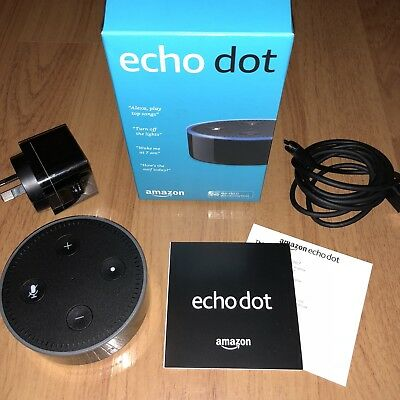 Amazon Echo Dot (2nd Generation) Smart Alexa Assistant - Black